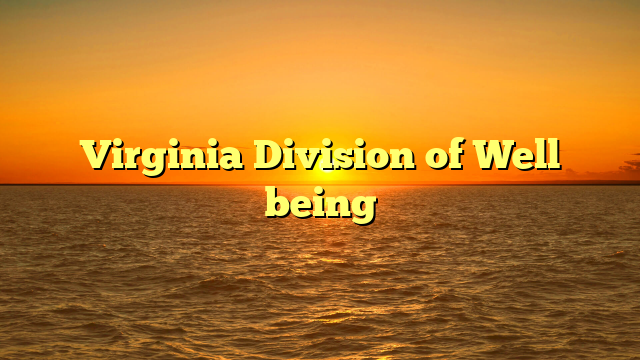 Virginia Division of Well being